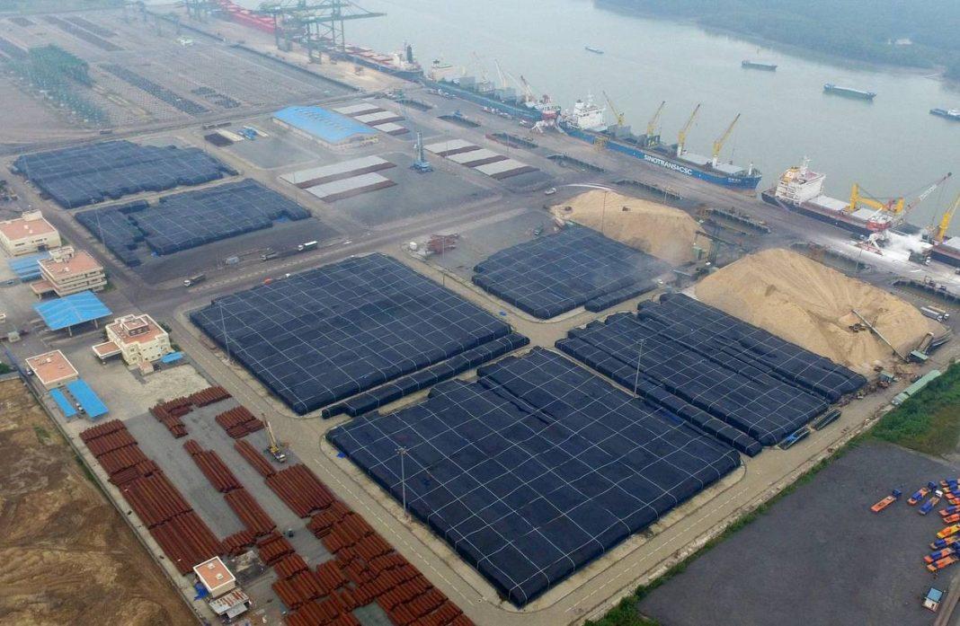 Kho nhôm của Công ty TNHH Nhôm Toàn cầu Việt Nam. (Nguồn: WSJ)