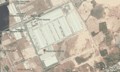 Kho chứa nhôm của GVA cách cảng Sài Gòn 70 km, cảng Phú Mỹ 9 km, cảng Thị Vải 5 km, cách sân bay Tân Sơn Nhất 70 km, sân bay Long Thành 20 km. (Nguồn: ảnh chụp màn hình Google map)