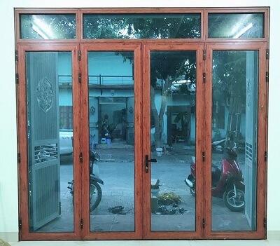 Cửa nhôm kính Xingfa cao cấp đẹp