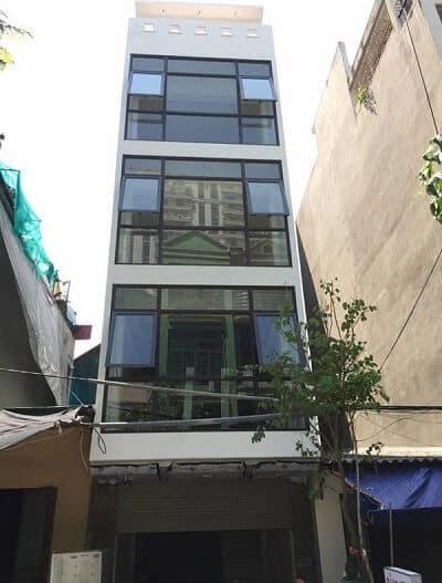 Nhà phố sử dụng nhôm Xingfa chính hãng