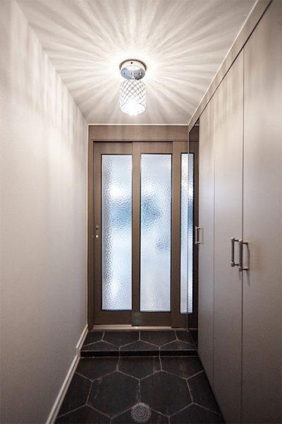 Cửa trượt cho lối nhỏ không gian của nhà có diện tích không lớn