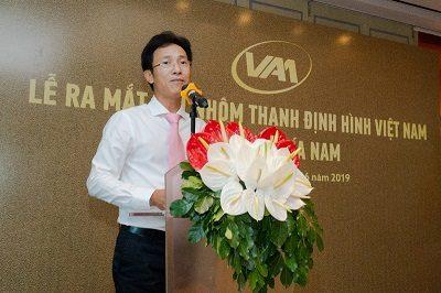 Ông Dương Quốc Tuấn - Chủ tịch HĐQT, TGĐ Tập đoàn Austdoor, Phó Chủ tịch Hội Nhôm thanh định hình Việt Nam.