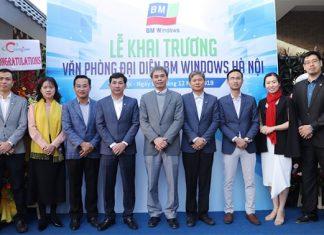 Lễ khai trương BM Windows tại Hà Nội.