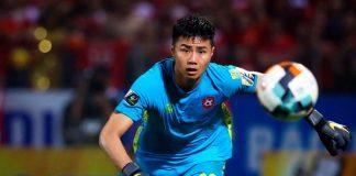 Tại V-League 2019, Văn Toản là thủ môn bắt chính ở CLB Hải Phòng