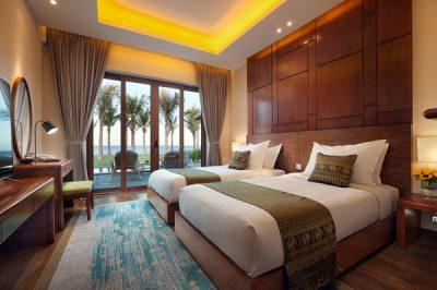Thiết kế đơn giản, tinh tế, ngập tràn ánh sáng và gió măt tại biệt thự nghỉ dưỡng ven biển Cam Ranh