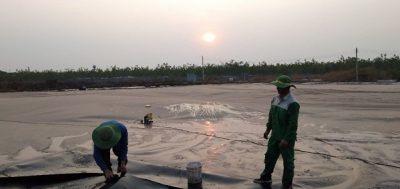 Xây dựng hầm biogas phủ bạt HDPE