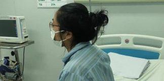 Sức khỏe của bệnh nhân N.H.N. đang tiến triển tốt. (Ảnh: Bác sĩ cung cấp).