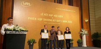 Kết nạp Hội viên mới và trao giấy chứng nhận Hội viên liên kết cho 4 Công ty