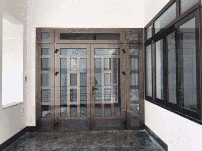Cửa nhôm Xingfa được lắp đặt cho nhà phố