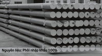 Nguyên liệu được nhập khẩu để sản xuất thanh nhôm