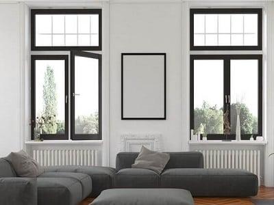 Cửa sổ 2 cánh nhôm Xingfa