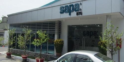 Hệ thống phân phối rộng khắp là điểm mạnh của Sapa khi quyết định đầu tư trong nước