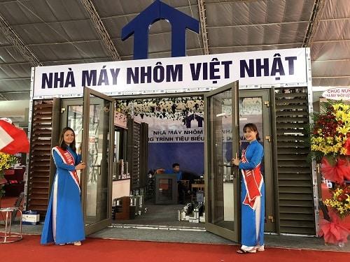 Nhôm Việt Nhật địa chỉ của uy tín và chất lượng