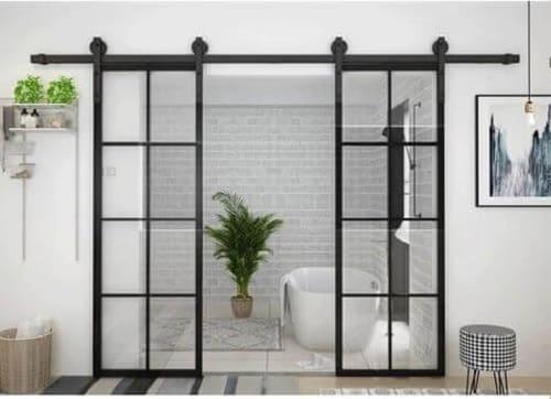 Cửa lùa treo, một xu hướng mới cho ngành kiến trúc