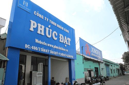 Phúc Đạt door chuyên phân phối nhôm Xingfa tại thị trường Việt Nam