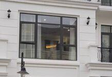 Cửa sổ nhôm Việt Pháp sử dụng cho các công trình nhà phố