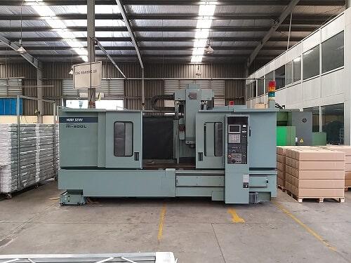 Máy CNC 3 chiều đảm bảo tính chính xác cửa CNC