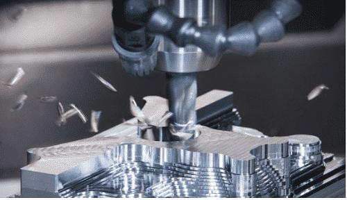 Phay CNC tại nhà máy gia công