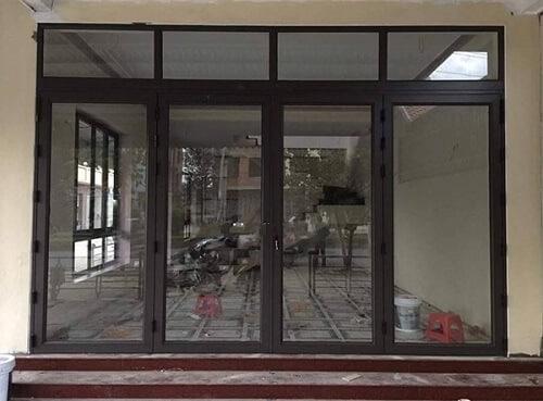 Cách thiết kế và lựa chọn loại cửa phụ thuộc nhiều vào kích thước xây dựng