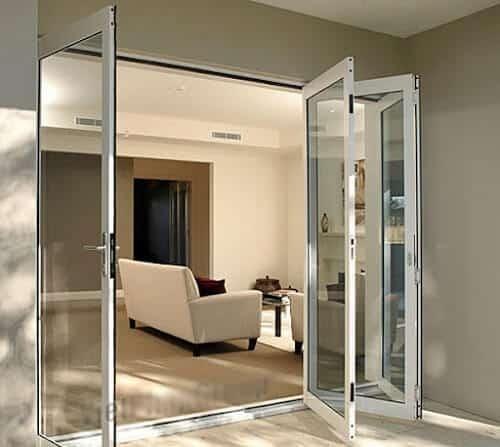 Sự sang trọng được toát lên thông qua thiết kế cửa nhôm kính